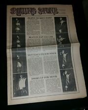 Rolling Stone Jim Morrison The Doors Issue # 5 Feb 10 1968 Mint Condition