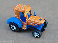 2013 Matchbox Mission Force Farm Crew TRACTOR Loose ORANGE