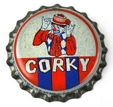 Corky Clown Soda Kronkorken USA Soda Bottle Cap Korkdichtung