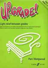 UP-GRADE PIANO Grades 2 -3 Easy Music Book Wedgwood Light Relief Between Grades
