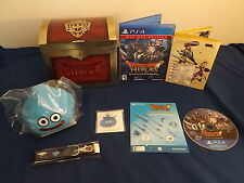 DRAGON QUEST HEROES - SLIME COLLECTOR'S EDITION Playstation 4 game COMPLETE!