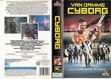 Cyborg (1989) VHS