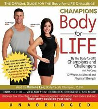 Body For Life - Champions Body For Life / New 5CD Audio Book