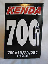 KENDA BIKE BICYCLE CYCLE INNER TUBE 700c x 18-23-25c LONG PRESTA VALVE
