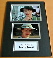 PAULINE MORAN SIGNED autograph A4 Photo Mount Display POIROT Miss Lemon TV & COA