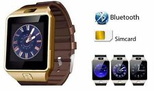 DZ09 Bluetooth Black Smart Watch with Sim Card Camera Android iOS & Memory Slot