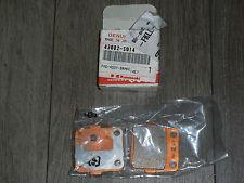 KAWASAKI QUAD KFX400 - PLAQUETTES DE FREIN NEUVES REF OEM 43082S014