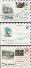 Three Russian Letter sheets various Issues. Covers,  009