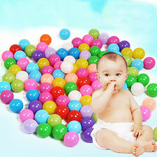 1000 x 55mm Superior Soft Plastic Fun Colorful Ball Ocean Ball Baby Kid Pit Toys