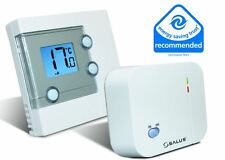 SALUS DIGITAL WIRELESS ELECTRONIC ROOM THERMOSTAT RT300RF LCD CENTRAL HEATING RF