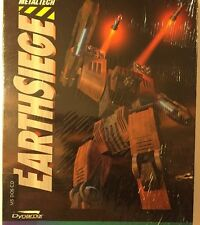 METALTECH EARTHSIEGE, by SIERRA/DYNAMIX  MS DOS CD *NEW SEALED*  VINTAGE 1994