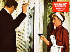From Russia Withe Love Lotte Lenya pulls gun on Sean Connery original lobby card