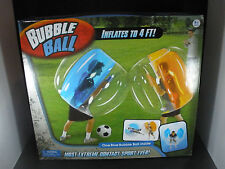 Bubble Ball Blue Bubble Bumper Suit 4' For Bubble Soccer Zorb Outdoor Fun NEW