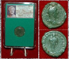 Roman Empire Coin ANTONINUS PIUS Hermes On Reverse Nicemedia, Bithynia