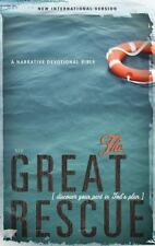 NIV, Great Rescue Bible, Hardcover: Discover Your Part in God's Plan