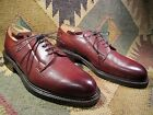 NEW VTG BROWN LEATHER OXFORD SHOES BENCHMADE IN ENGLAND BY CHEANEY SIZE 8.5 D