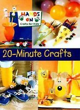 20-Minute Crafts by Kathie Stull (2001, Hardcover)  MS-158