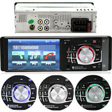 HD Screen FM Aux Stereo Car Radio Bluetooth 1 Din MP3 MP4 MP5 Player 4.1 inch