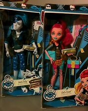 Monster High SCAREMESTER Invisi Billy High School Class & GIGI GRANT Dolls~NRFB