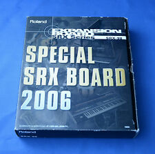 Roland SRX-98 : Special SRX board 2006 Expansion Board with box Free shipping!!