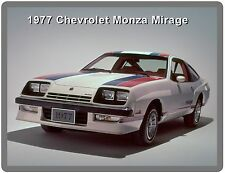 1977 Chevrolet Monza Mirage  Refrigerator / Tool Box Magnet Gift Card Insert