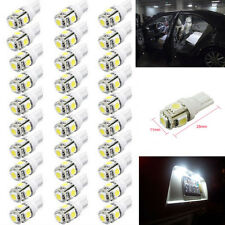 100Pcs Super White T10 Wedge 5-SMD 5050 LED Light bulbs W5W 2825 158 192 168 194
