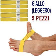 Msd ELASTICO CAVIGLIE 5 PZ GIALLO (Leggero) ANKLECISER riabilitazione Caviglia