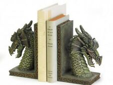 Dragon Head Themed Book Ends Bookends Set Colorful New in Box