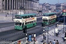 Merseyside 1384 & 2029 April 1981 Liverpool Bus Photo