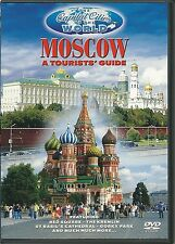 A TOURISTS GUIDE MOSCOW DVD - THE CAPITAL CITIES OF THE WORLD