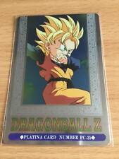 Carte Dragon Ball Z DBZ Hero Collection Part 3 #PC-25 Platina 1995 MADE IN JAPAN