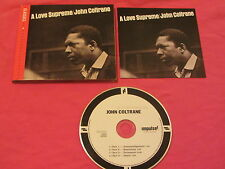 John Coltrane A Love Supreme 2003 CD Free Jazz Impulse (0602498840139