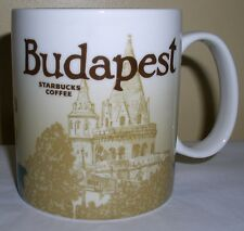Starbucks Global Icon Collector Series Mug BUDAPEST, HUNGARY New With Tag, MIC