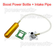 Boost Power Bottle Intake Pipe For 47 49 cc Mini Moto ATV Quad Dirt Pocket Bikes