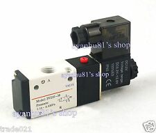 "G1/4"" Pneumatic 3 Way 2 Position Electric Solenoid Air Valve 12V DC 3V210-08"