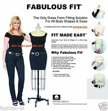 Fabulous Fit Dress Form Fitting System -  Large