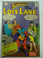 LOIS LANE #64 VG+ (4.5) DC COMICS SUPERMANS GIRLFRIEND