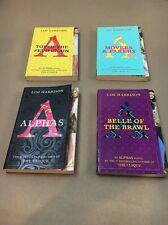 ALPHAS LOT OF 4 YOUNG ADULT NOVELS Lisi Harrison Paperbacks Books