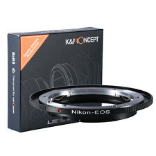 Mount Adapter For Nikon F AI Ai-S Lens to Canon EOS EF 600D 60D 5D 500D Metal