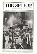 1914 Funeral Field Marshal Lord Roberts St Pauls Cathedral