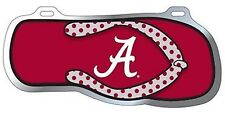 ALABAMA CRIMSON TIDE FLIP FLOP LICENSE PLATE/ CAR TAG