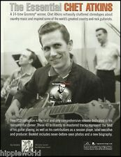 The Essential Chet Atkins 2007 Sony BMG ad 8 x 11 advertisement print