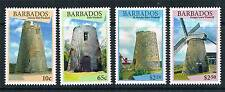 Barbados 2015 Windmills 4v set MNH