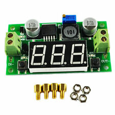 LM2596S Led Voltmeter DC--DC to Buck Step Down Adjustable Power Supply Module