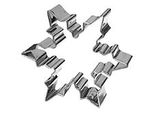 Eddingtons Snowflake Cookie Cutter - Christmas Pastry & Biscuit Metal Cutter