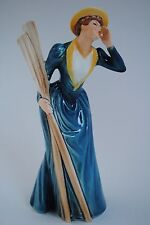 """GOEBEL W.GERMANY - HANDCRAFTED LADY FIGURINE  """"RIVER OUTING 1889""""  1629821"""