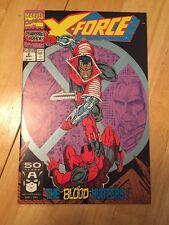 X-force 2 NM 2nd App Deadpool High Grade 1991