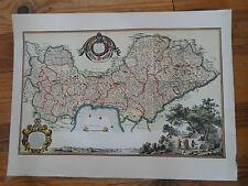 carte géographique - Daniel Dervaux - carte du languedoc