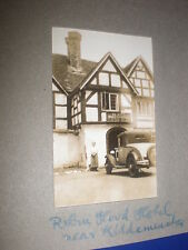 Old amateur photograph Robin Hood Hotel near Kidderminster c1930s Ref 5abc8