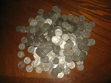 1005 Old Buffalo Nickels With No Dates.